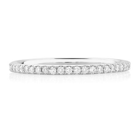 Sir Michael Hill Designer GrandAria Wedding Band with 1/3 Carat TW of Diamonds in 14kt White Gold