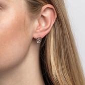 Knots Earrings in Sterling Silver