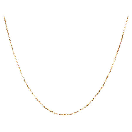 "50cm (20"") Solid Rolo Chain in 10kt Yellow Gold"