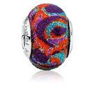 Multi-Colored Enamel Glitter Charm