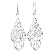 Drop Earrings in Sterling Silver