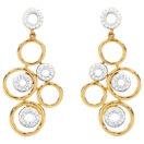 Online Exclusive - Drop Earrings with 0.30 Carat TW of Diamonds in 10kt Yellow Gold