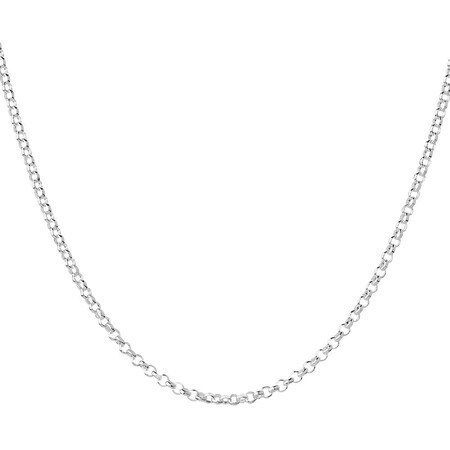 "45cm (18"") Rolo Chain in Sterling Silver"
