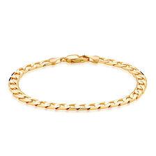 "Men's 21cm (8.5"") Curb Bracelet in 10kt Yellow Gold"
