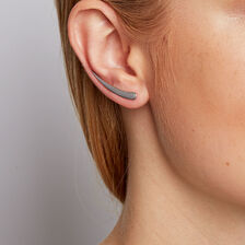 Ear Climbers in Sterling Silver