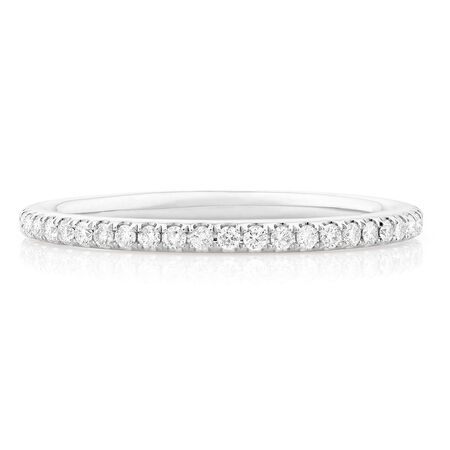 Sir Michael Hill Designer GrandAllegro Wedding Band with 1/3 Carat TW of Diamonds in 14kt White Gold