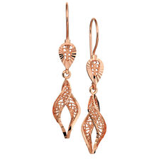Drop Earrings in 10kt Rose Gold