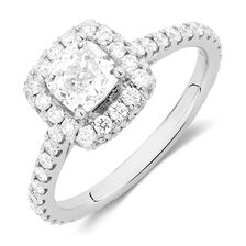 Sir Michael Hill Designer GrandAllegro Engagement Ring with 2 Carat TW of Diamonds in 14kt White Gold