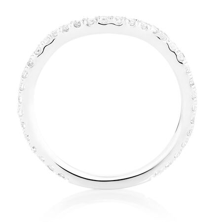 Sir Michael Hill Designer GrandAdagio Wedding Band with 3/8 Carat TW of Diamonds in 14kt White Gold