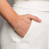 """19cm (7.5"""") Infinity Bracelet in Sterling Silver"""