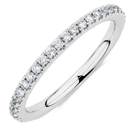 Sir Michael Hill Designer GrandAllegro Wedding Band with 0.40 Carat TW of Diamonds in 14kt White Gold