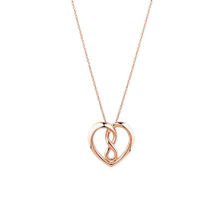 Small Infinitas Pendant in 10kt Rose Gold