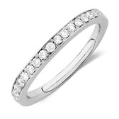 Sir Michael Hill Designer GrandAmoroso Wedding Band with 1/2 Carat TW of Diamonds in 14kt White Gold