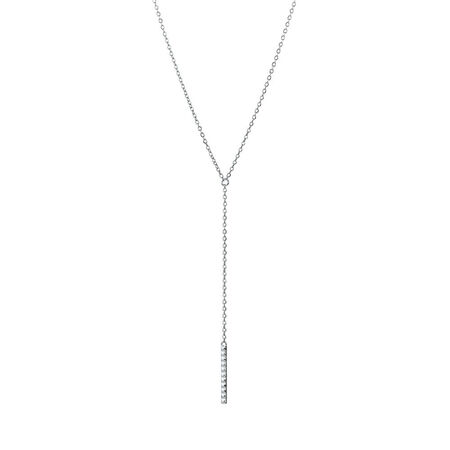 Thread Necklace in Sterling Silver