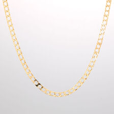"""Online Exclusive - 55cm (22"""") Curb Chain in 10kt Yellow Gold"""