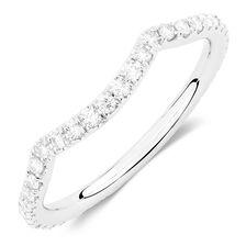 Sir Michael Hill Designer GrandAdagio Wedding Band with 3/8 Carat TW of Diamonds in 14kt White Gold