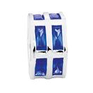 Blue Cubic Zirconia & Sterling Silver Hexagonal Charm
