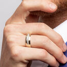 Men's Ring with 1/4 Carat TW of Diamonds in 10kt Yellow Gold