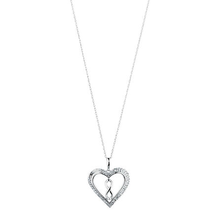 Online Exclusive - Infinitas Pendant with 1/4 Carat TW of Diamonds in Sterling Silver