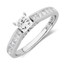 Online Exclusive - Engagement Ring with 1.15 Carat TW of Diamonds in 14kt White Gold