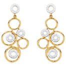 Online Exclusive - Drop Earrings with 0.30 Carat TW of Diamonds in 10kt Yellow Gold