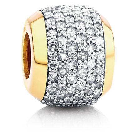 1/2 Carat TW Diamond Marrakesh Charm
