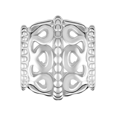 Sterling Silver Filigree Charm