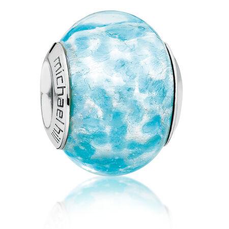 Bright Blue Murano Glass Charm