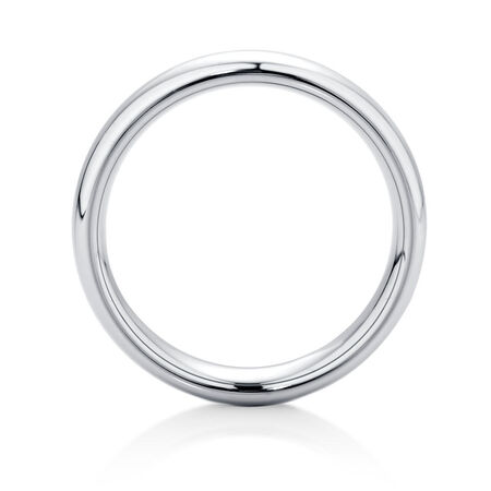 6mm Men's Ring in Gray Tungsten