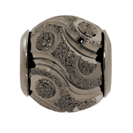 Sterling Silver Patterned Charm
