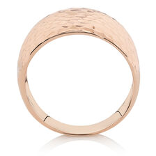 Patterned Ring in 10kt Rose Gold