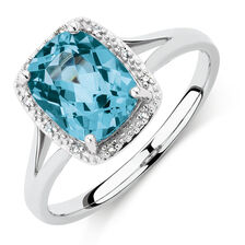engagement diamond rings created and charming new lbj december birthstone topaz ct blue sterling silver wedding