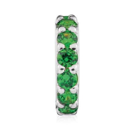Green Cubic Zirconia Spacer