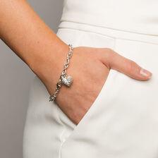 """19cm (7.5"""") Rolo Bracelet in Sterling Silver"""