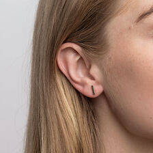Bar Stud Earrings in 10kt Yellow Gold
