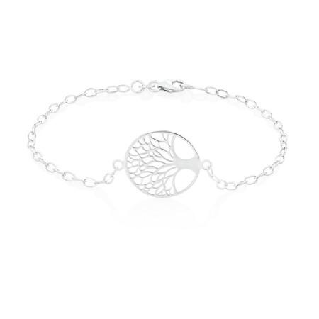 Tree of Life Bracelet in Sterling Silver