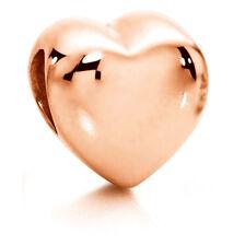 10kt Rose Gold Heart Charm