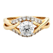Online Exclusive - Engagement Ring with 1.40 Carat TW of Diamonds in 10kt Yellow & White Gold