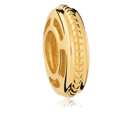 10kt Yellow Gold Pattern Spacer