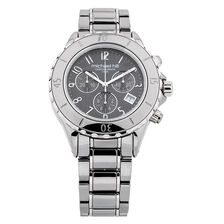 Unisex Watch in Gray Ceramic & Stainless Steel