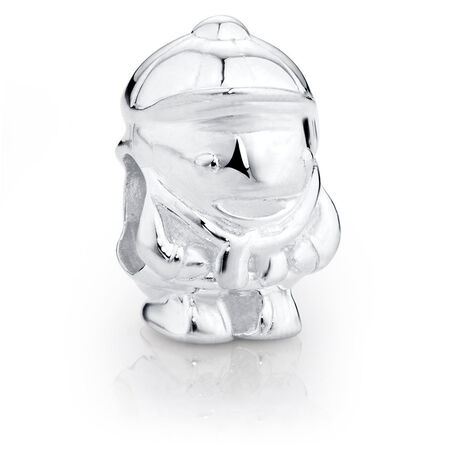 Sterling Silver Little Boy Charm