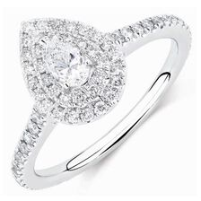 vintage engagement rings aquamarine