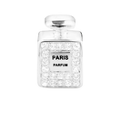 Cubic Zirconia & Sterling Silver Perfume Bottle Charm
