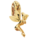 10kt Yellow Gold Fairy Charm
