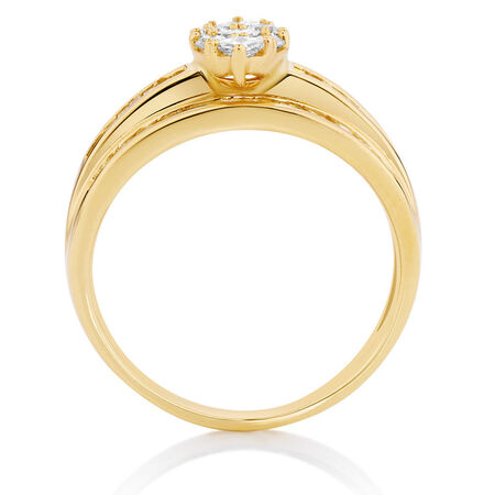 Online Exclusive - Engagement Ring with 1 Carat TW of Diamonds in 14kt Yellow Gold