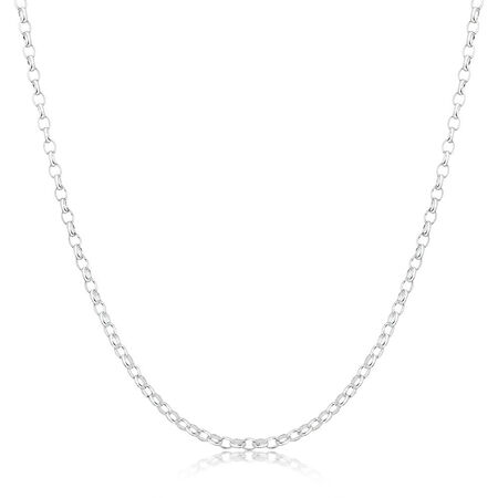 "80cm (32"") Rolo Chain in Sterling Silver"