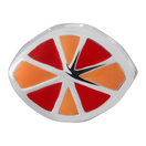 Orange & Red Enamel Charm