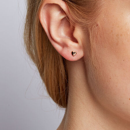 Stud Earrings in 10kt Rose Gold
