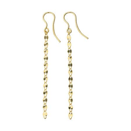 Online Exclusive - Drop Earrings in 10kt Yellow Gold