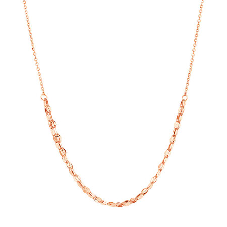 Adjustable Choker Necklace in 10kt Italian Rose Gold